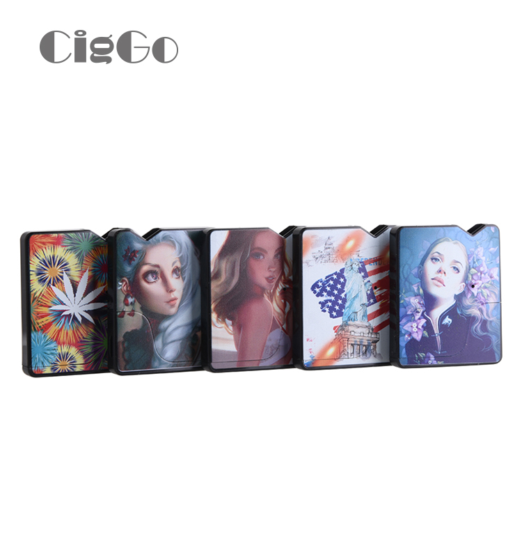 CBD/THC thick oil Pod Vape pen CIGGO J BOX